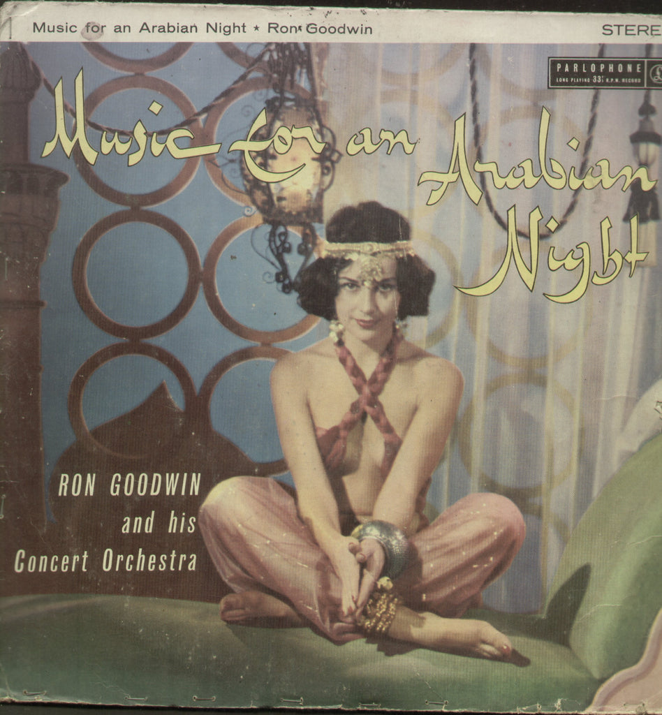 Music For An Arabian Night Played By Ron Goodwin And His Concert Orchestra - English Bollywood Vinyl LP