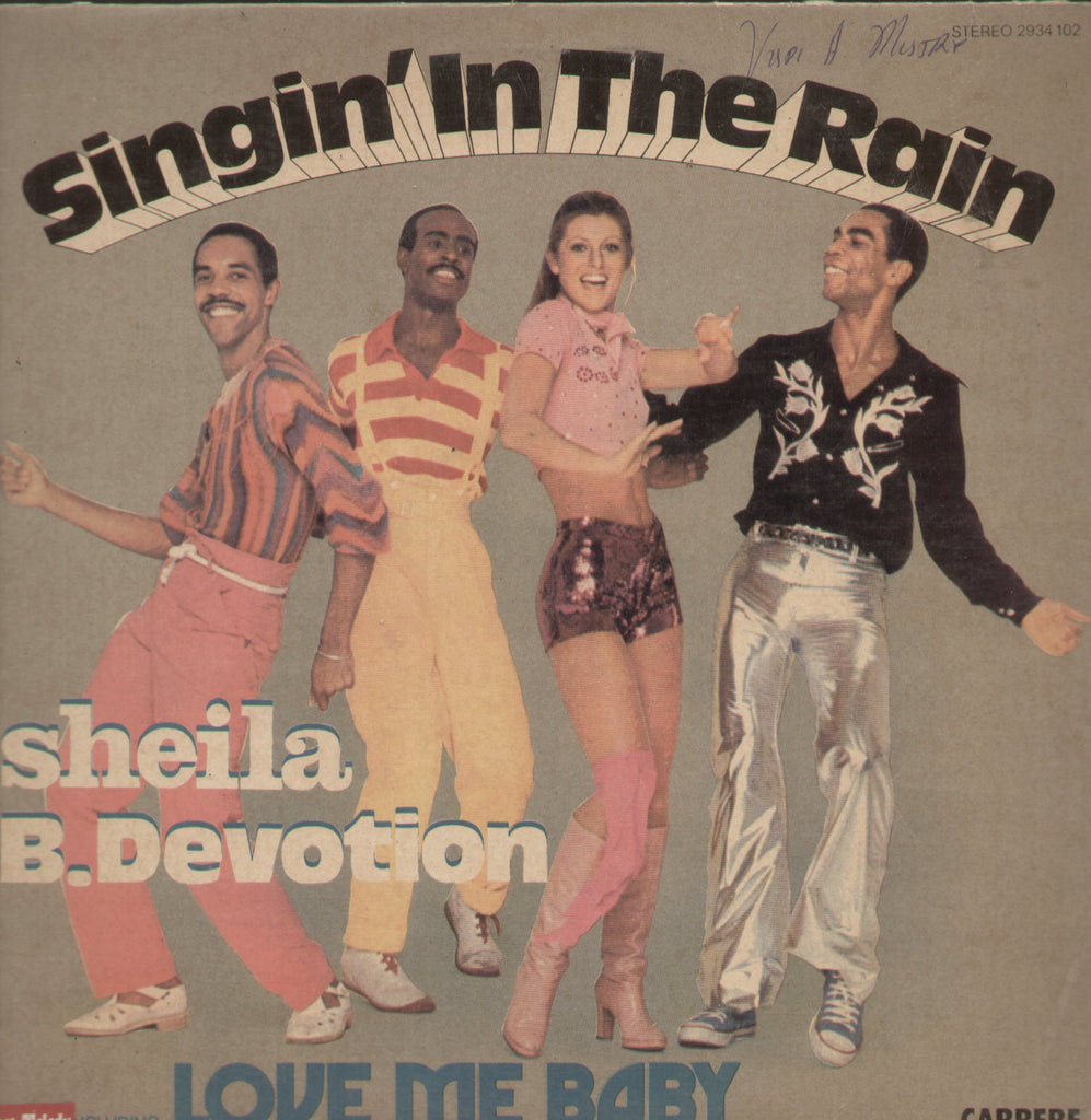 Singin In The Rain - English Bollywood Vinyl LP