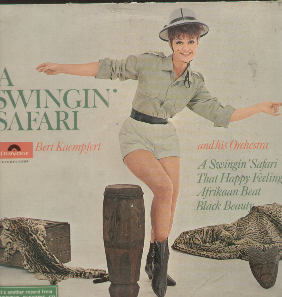A  Swingin Safari Bert Kaemfert And His Orchestra - English Bollywood Vinyl LP