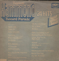 Topical Hammond Record Parade 24 Hits - English Bollywood Vinyl LP