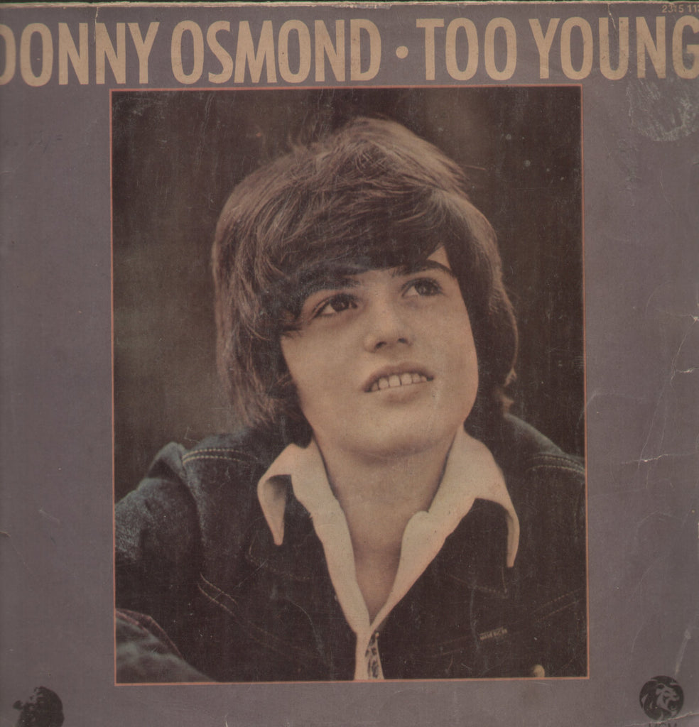 Donny Osmond - Too Young - English Bollywood Vinyl LP
