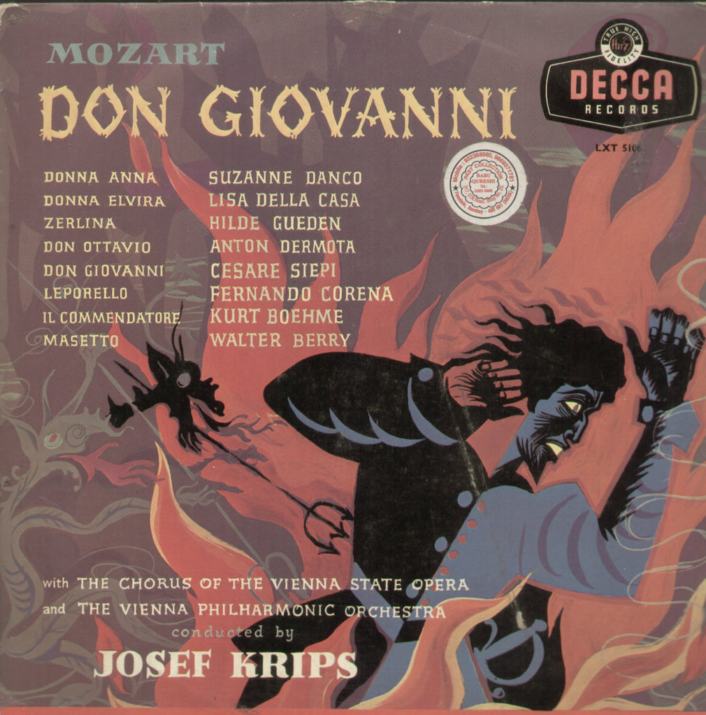 Don Giovanni - English Bollywood Vinyl LP