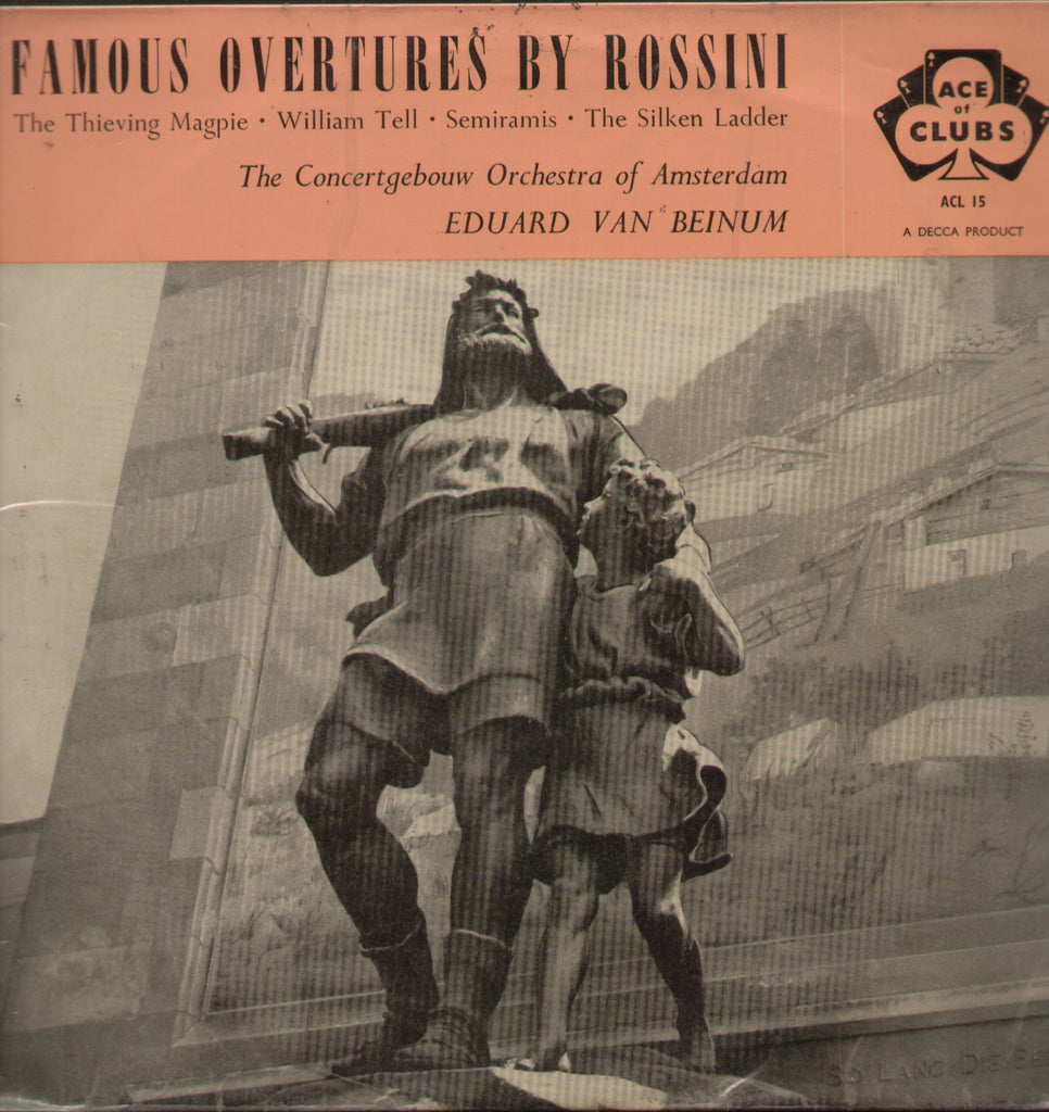 Famous Overtures By Rossini - English Bollywood Vinyl LP