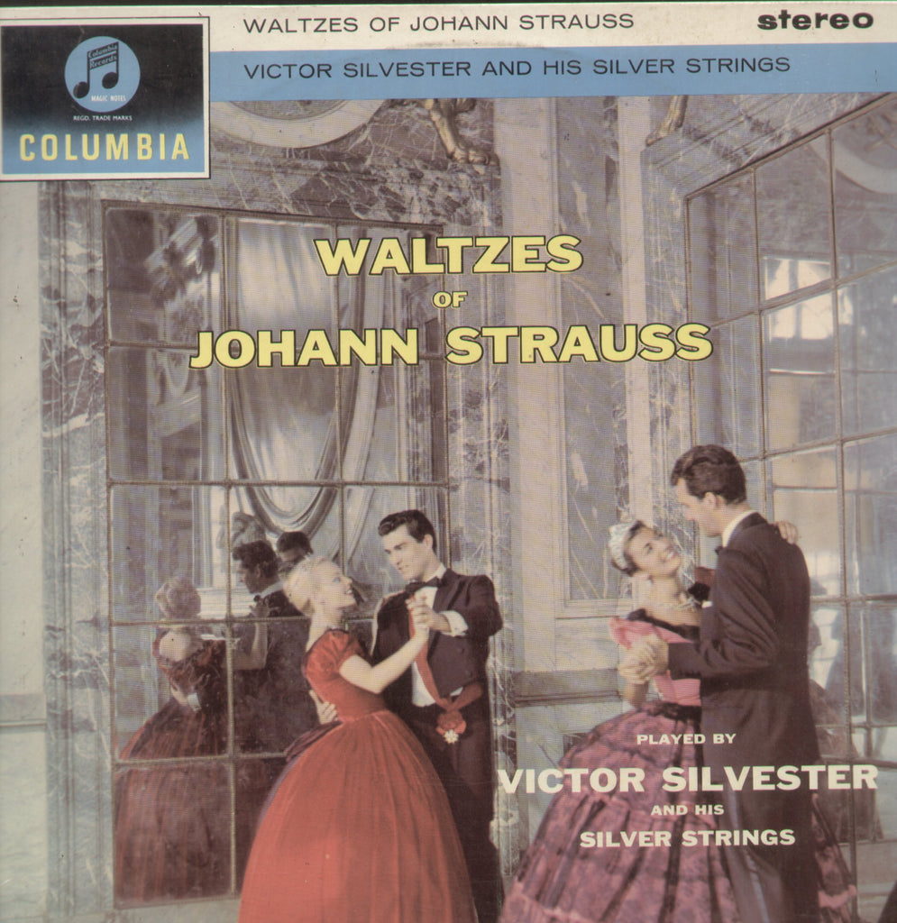 Waltzes Of Johann Strauss Victor Silverster And His Silver Strings - English Bollywood Vinyl LP
