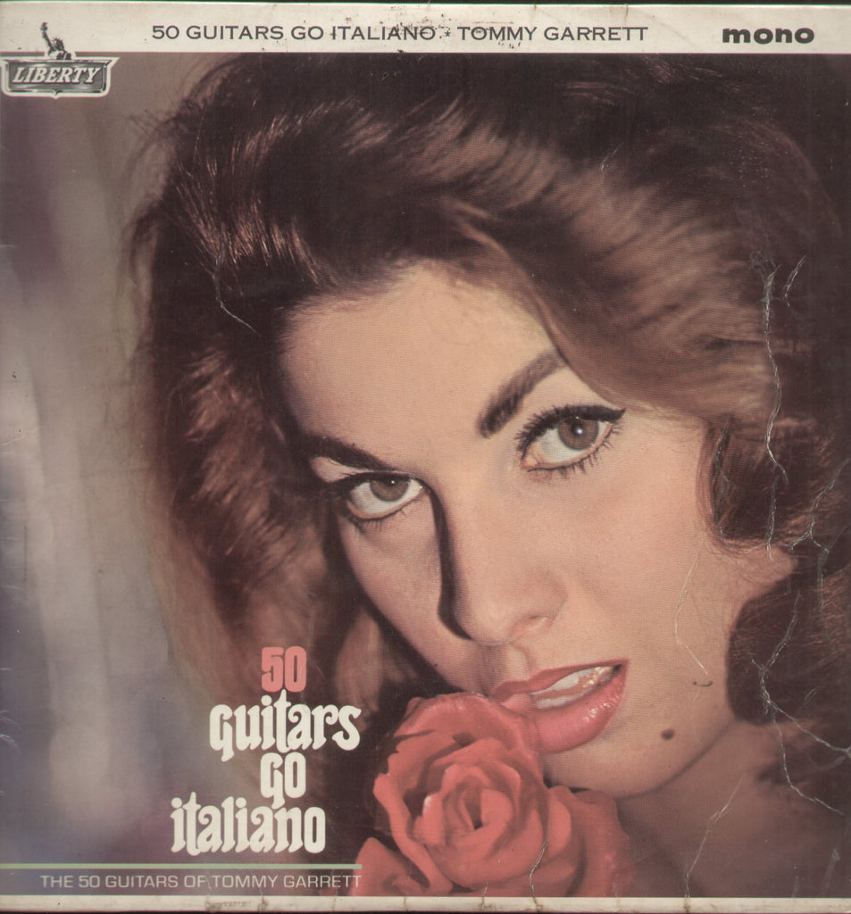 50 Guitars Go Italiano The 50 Guitars Of Tommy Garrett - English Bollywood Vinyl LP