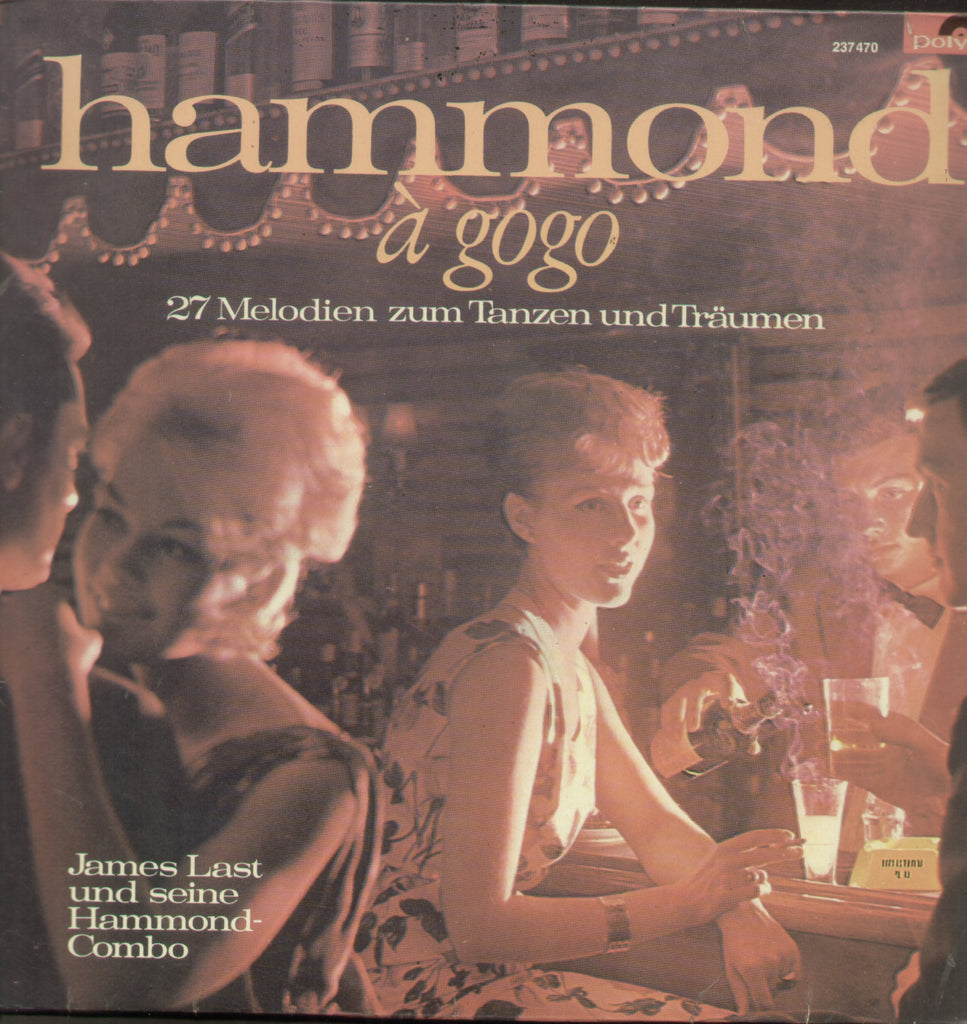 Hammond A Gogo Vol 2 - English  Bollywood Vinyl LP