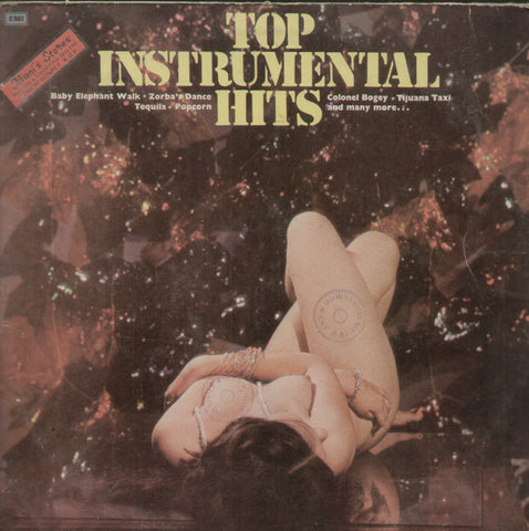 Top Instrumental Hits - English Bollywood Vinyl LP