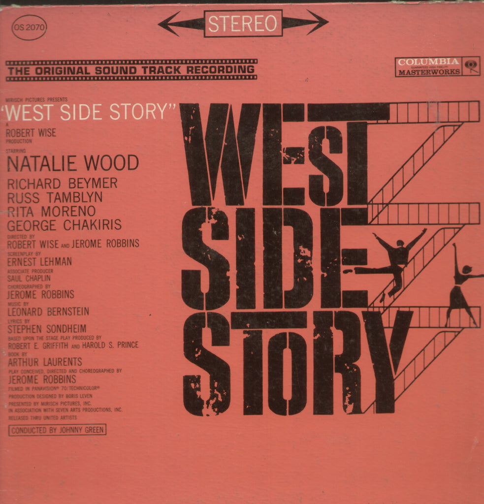 West Side Story  - English Bollywood Vinyl LP