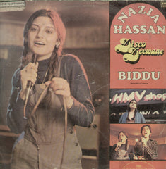 Nazia Hassan Disco Deewane - Hindi Bollywood Vinyl LP