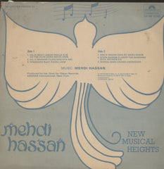 Mehdi Hassan New Musical Heights - Bollywood Vinyl LP
