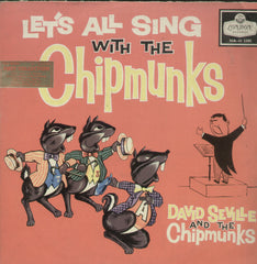 Lets All Sing With The Chipmunks - English Bollywood Vinyl LP