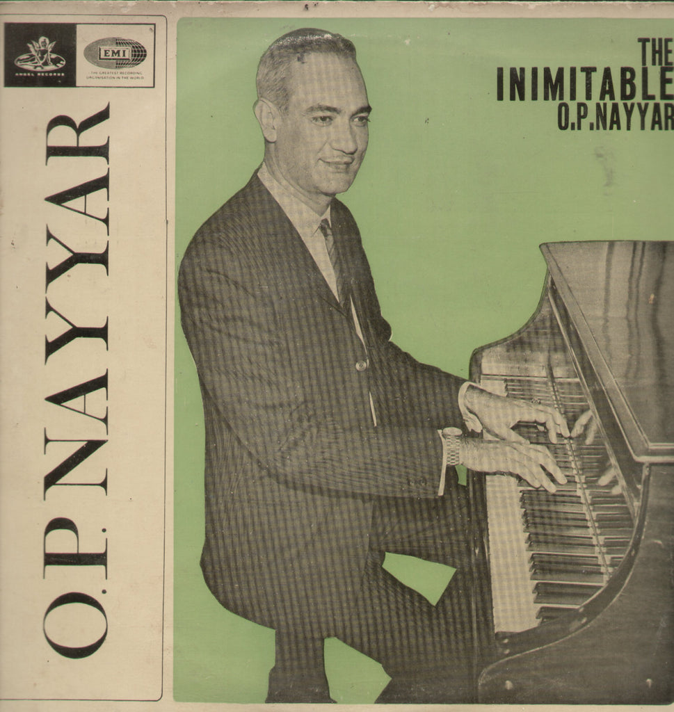 The Inimitable O.P.Nayyar - Compilations Bollywood Vinyl LP