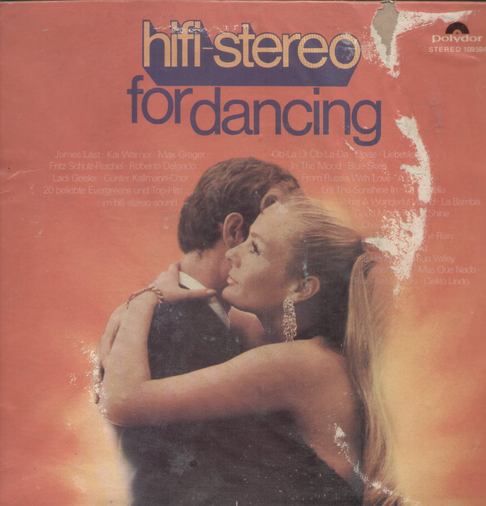 Hifi Stereo For Dancing - English Bollywood Vinyl LP