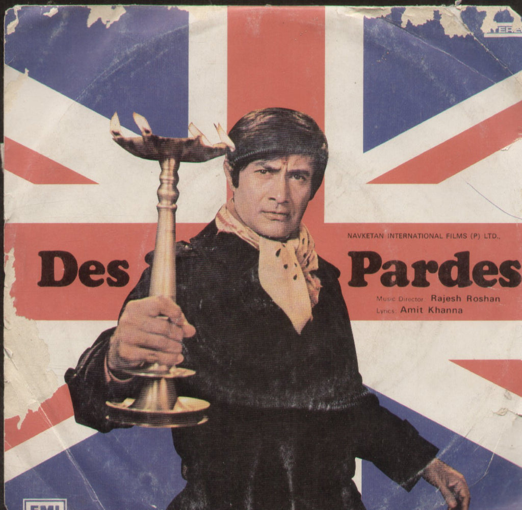Des Pardes - Hindi Bollywood Vinyl EP