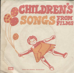 Children's Songs From Film - Hindi Bollywood Vinyl EP