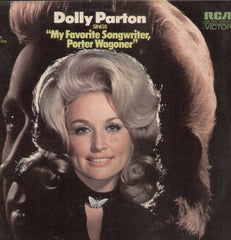 "DOLLY PARTON SINGS ""MY FAVORITE SONGWRITER PORTER WAGONER 1972 English Vinyl LP"