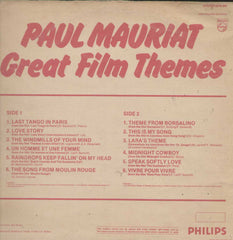 Great Film Themes by Paul Mauriat English Vinyl LP