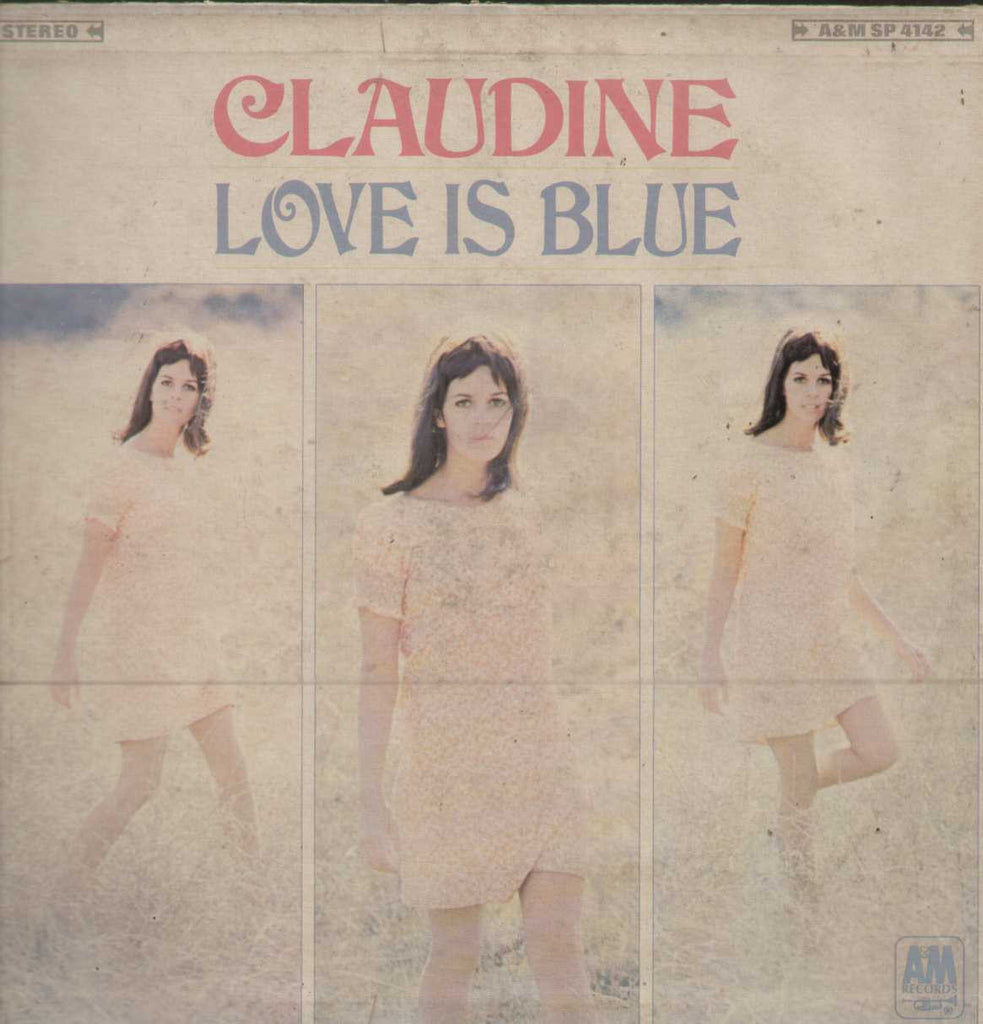 Claudine Longet - Love Is Blue English Vinyl LP
