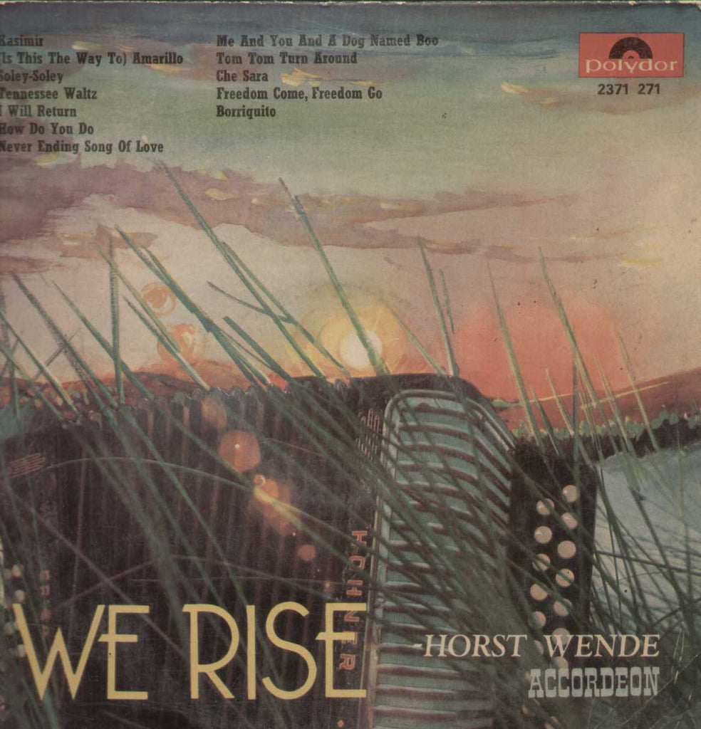 We rise horst wende accordeon English Vinyl LP