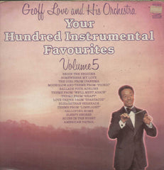 Your Hundred Instrumental Favourites - Vol 5 - Geoff Love English Vinyl LP