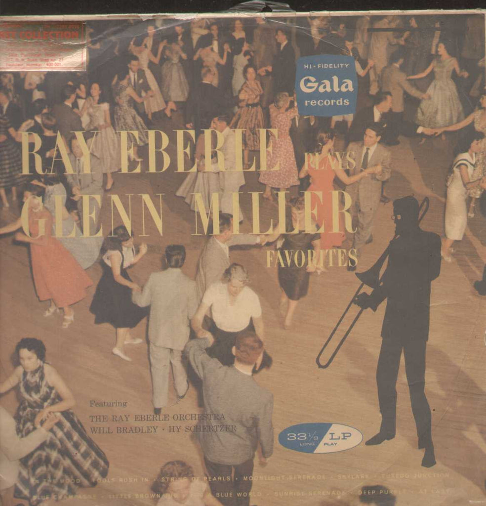 "Ray Eberle ""Plays Glenn Miller Favorites"" English Vinyl LP"