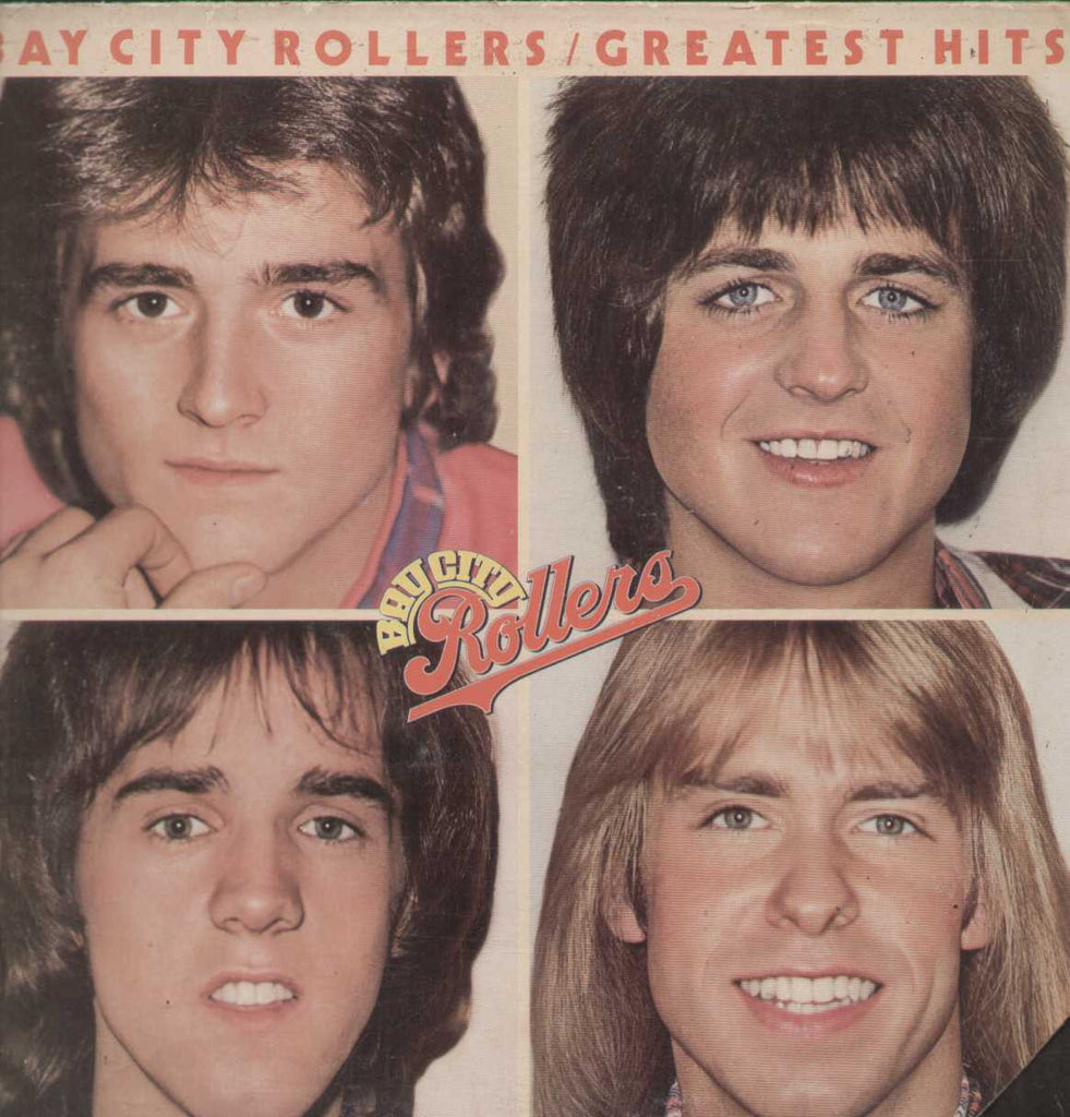 Bay City Rollers - Greatest Hits 1977  English Vinyl LP