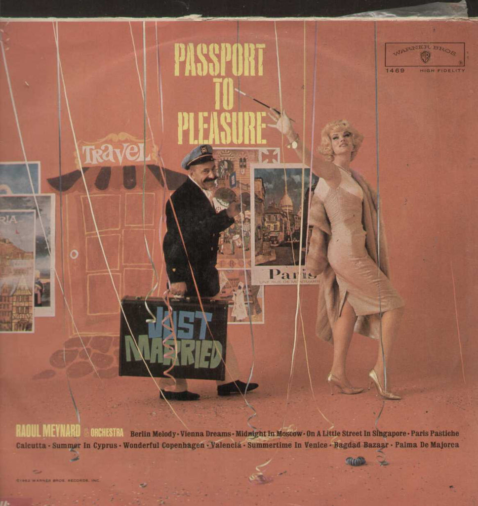 RAOUL MEYNARD passport to pleasure English Vinyl LP