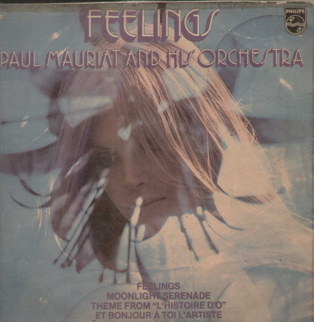 Paul Mauriat And His Orchestra ‎– Feelings Holland 1975 English Vinyl LP