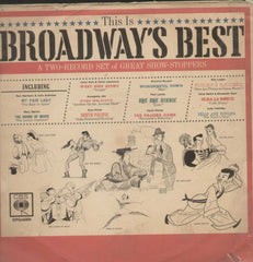 This Is Broadways Best English Vinyl LP
