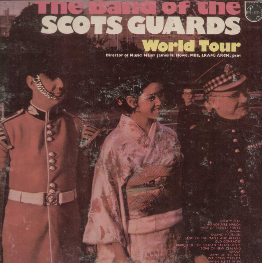 the band of the scots guards world  tour lp English Vinyl LP