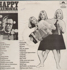 Horst Wende's Akkordeon-Band, Happy Harmonica English Vinyl LP