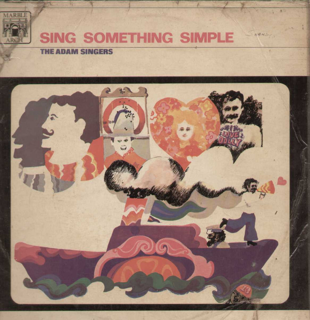 ADAM SINGERS Sing Something Simple 1966 English Vinyl LP