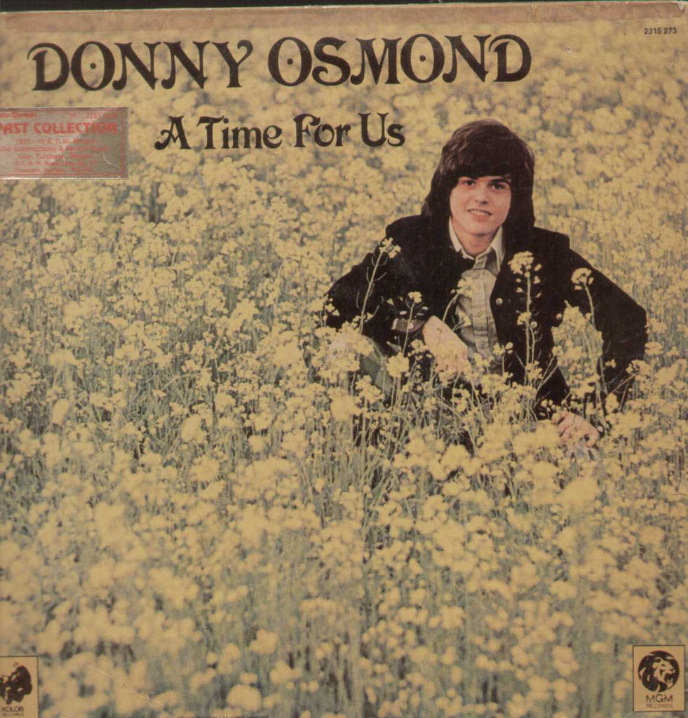 DONNY OSMOND A TIME FOR US RARE English Vinyl LP