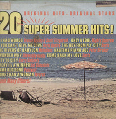 20 Super Summer Hits! English Vinyl LP