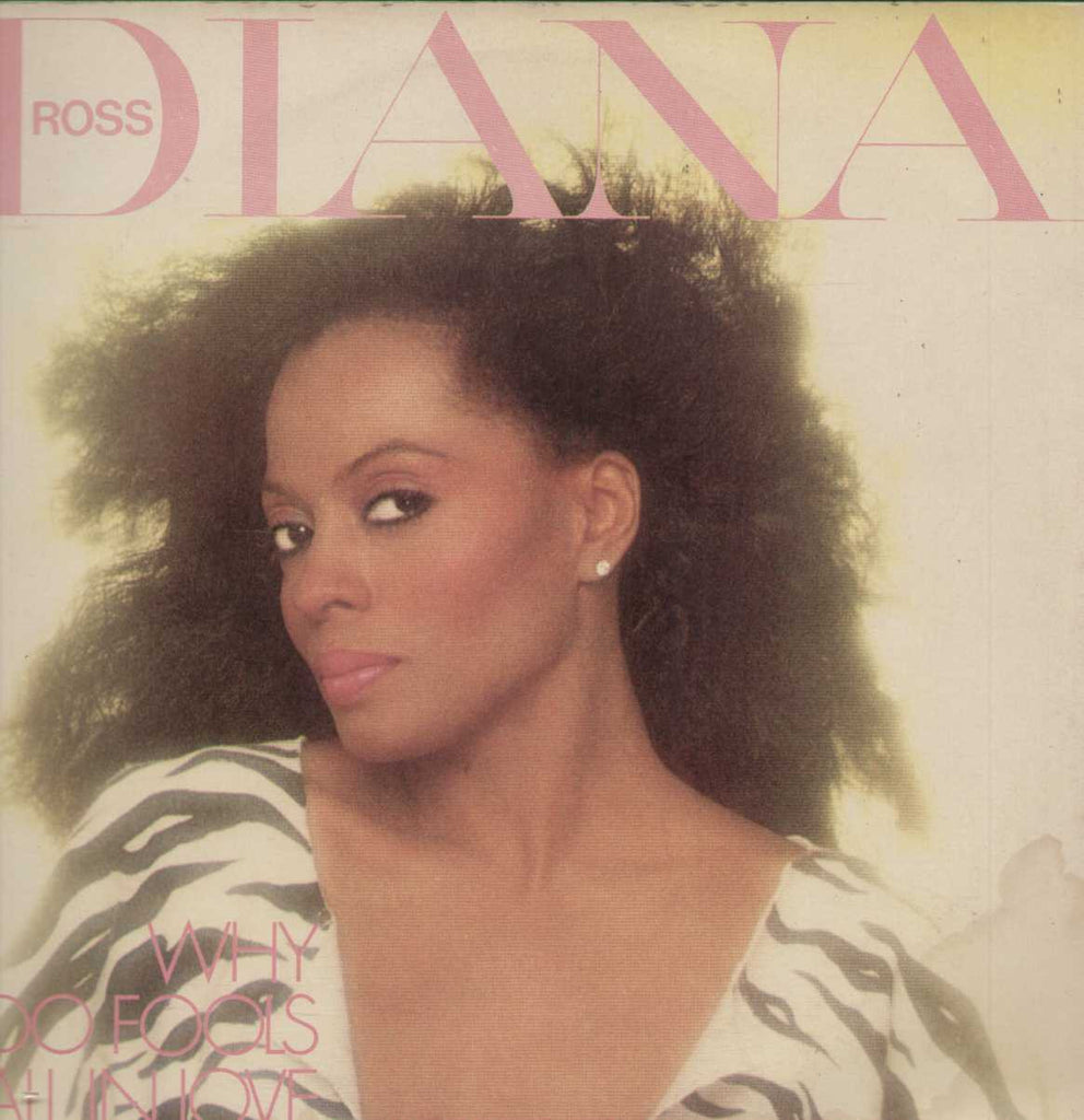 DIANA ROSS - WHY DO FOOLS FALL IN LOVE English Vinyl L P