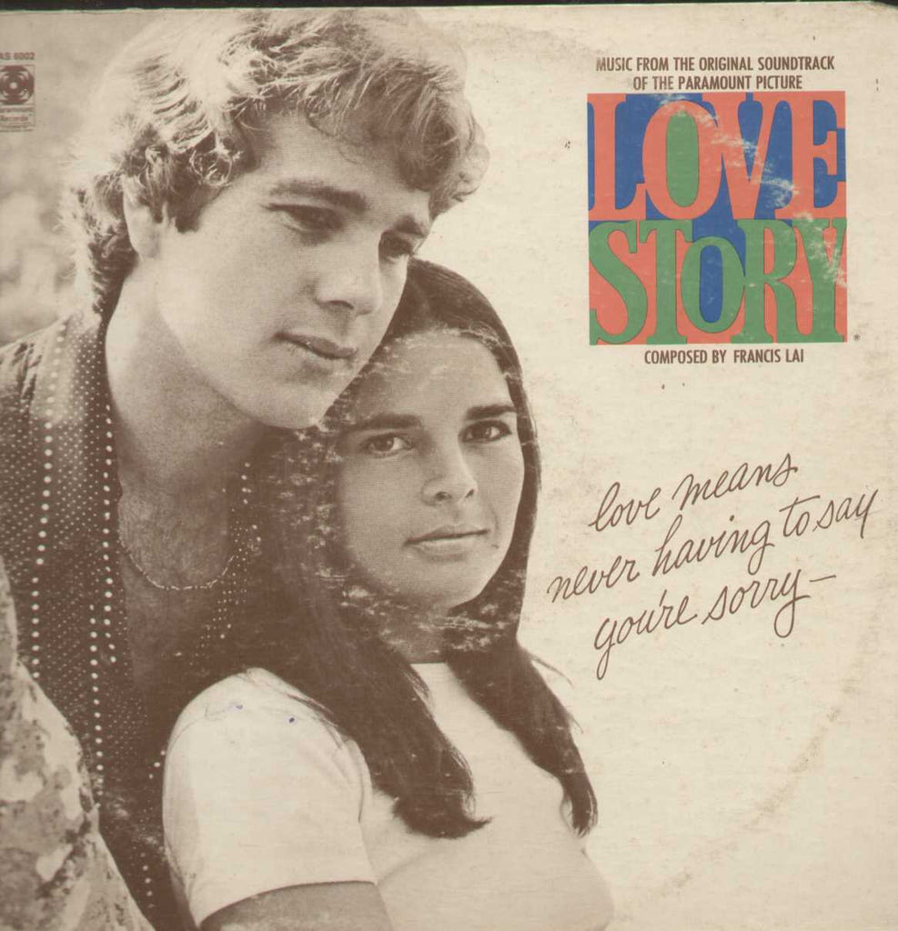 FRANCIS LAI Love Story TAIWAN Ali MacGrow Ryan O'neal English Vinyl L P