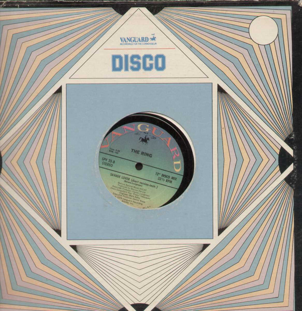 "RING Savage Lover 12"" DISCO Mix  1979 English Vinyl L P"