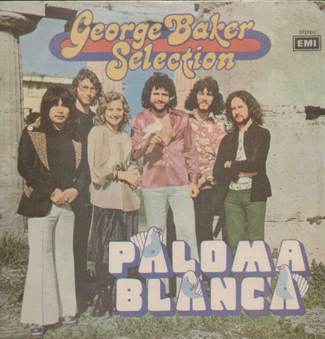 """PALOMA BLANCA"" GEORGE BAKER SELECTION WARNER BROS "" English Vinyl LP"