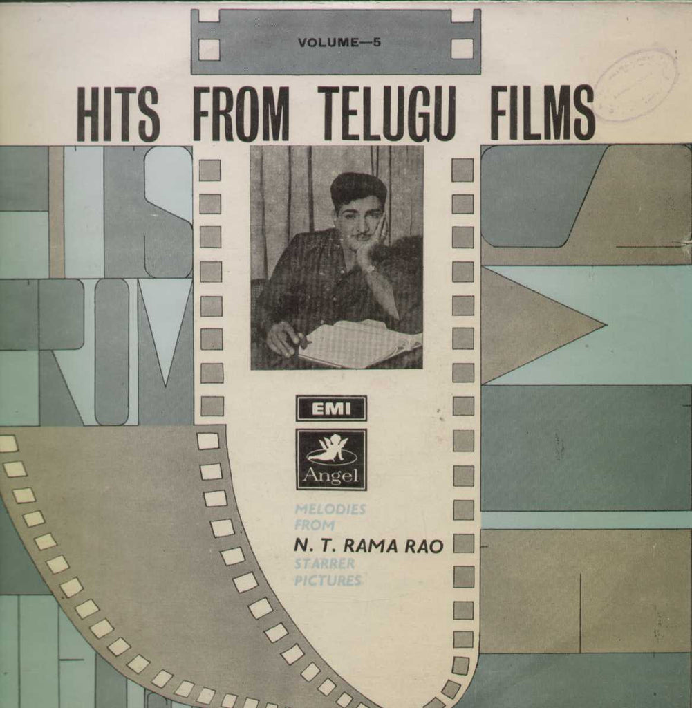 Hits From Telugu Films Melodies From N.T.Rama Rao Telugu Vinyl LP