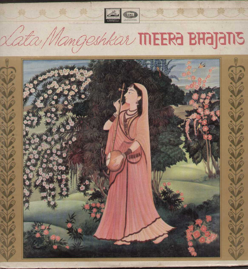 Meera Bhajans Hindi LP Vinyl