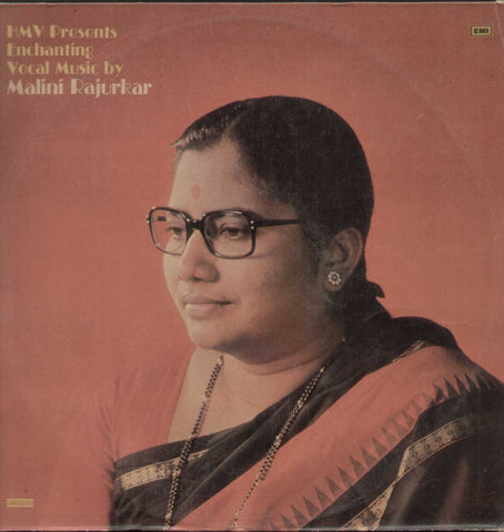 Enchanting Vocal Music by Malini Rajurkar Classical LP Vinyl