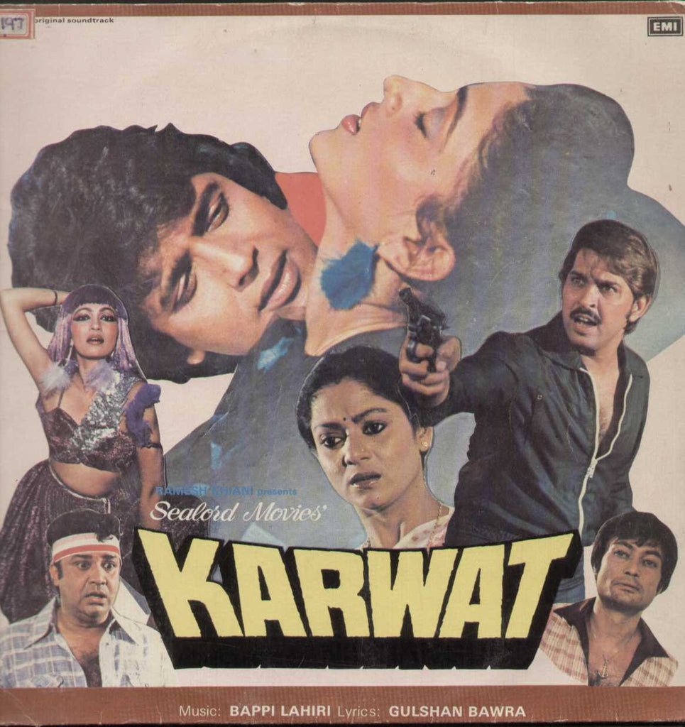Karwat  Hindi LP Vinyl
