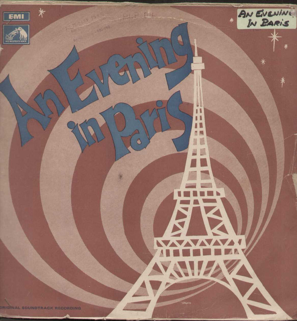 An Evening in Paris English 1960  LP Vinyl