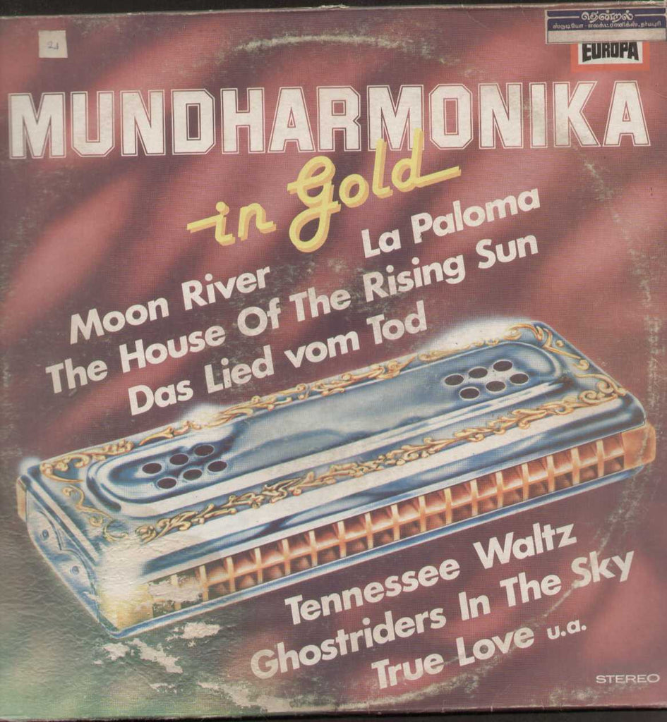 Mundharmonika In Gold English LP Vinyl