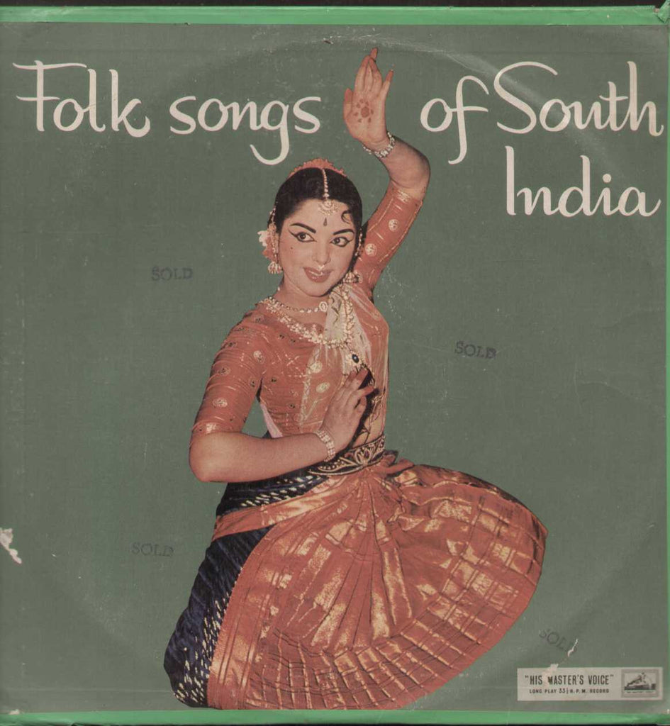 Folk Songs of South India -  Classic LP Vinyl