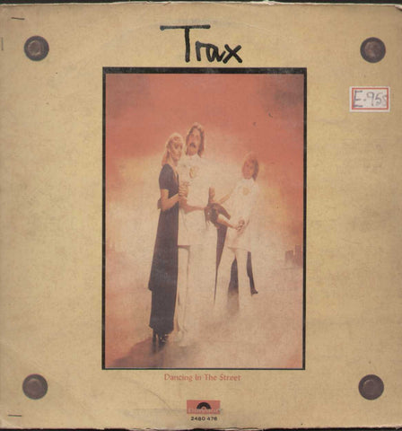 Trax Dancing in The Street - English 1970 LP Vinyl