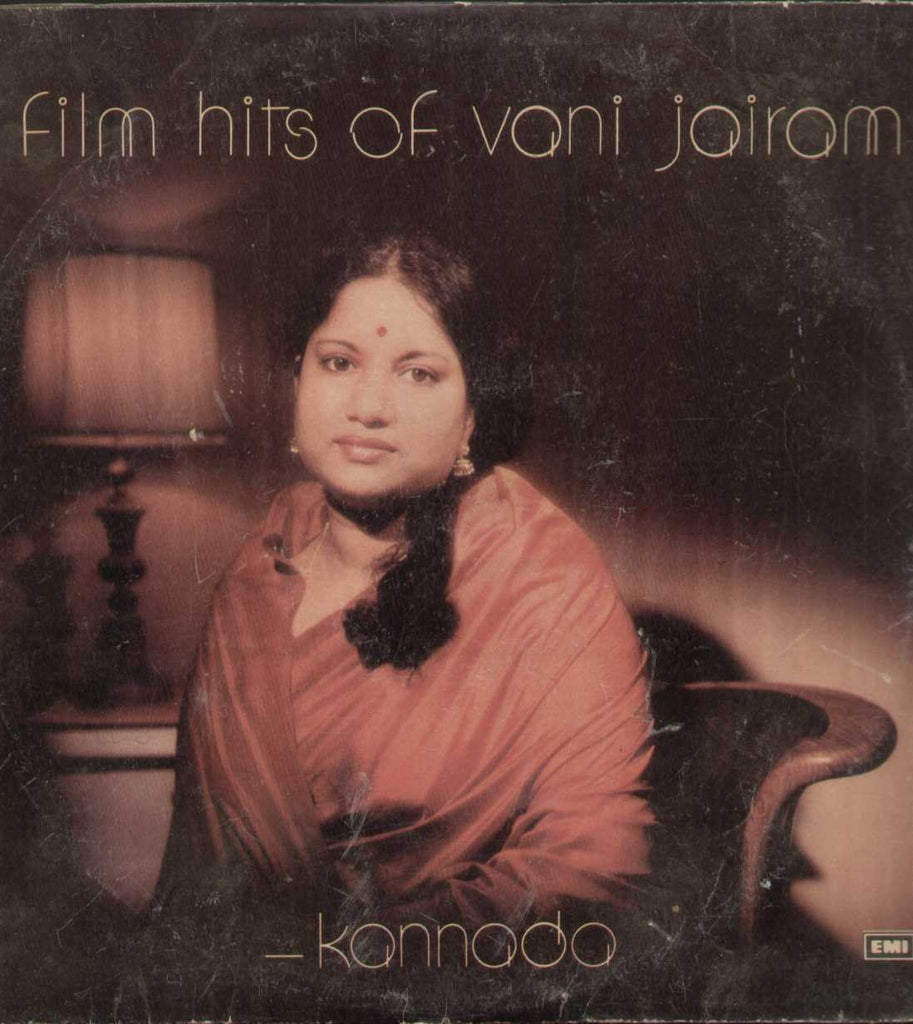 Film Hits of Vani Jairam Kannada 1980  LP Vinyl
