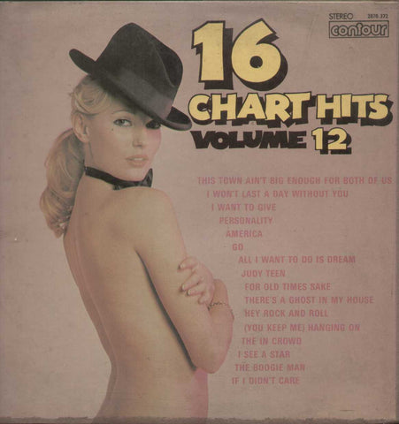 16 Chart Hits  Volume 12  - English 1970 LP Vinyl