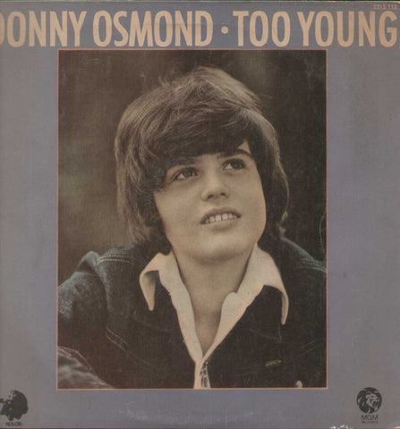 Donny Osmond . Too Young - English 1970 LP Vinyl