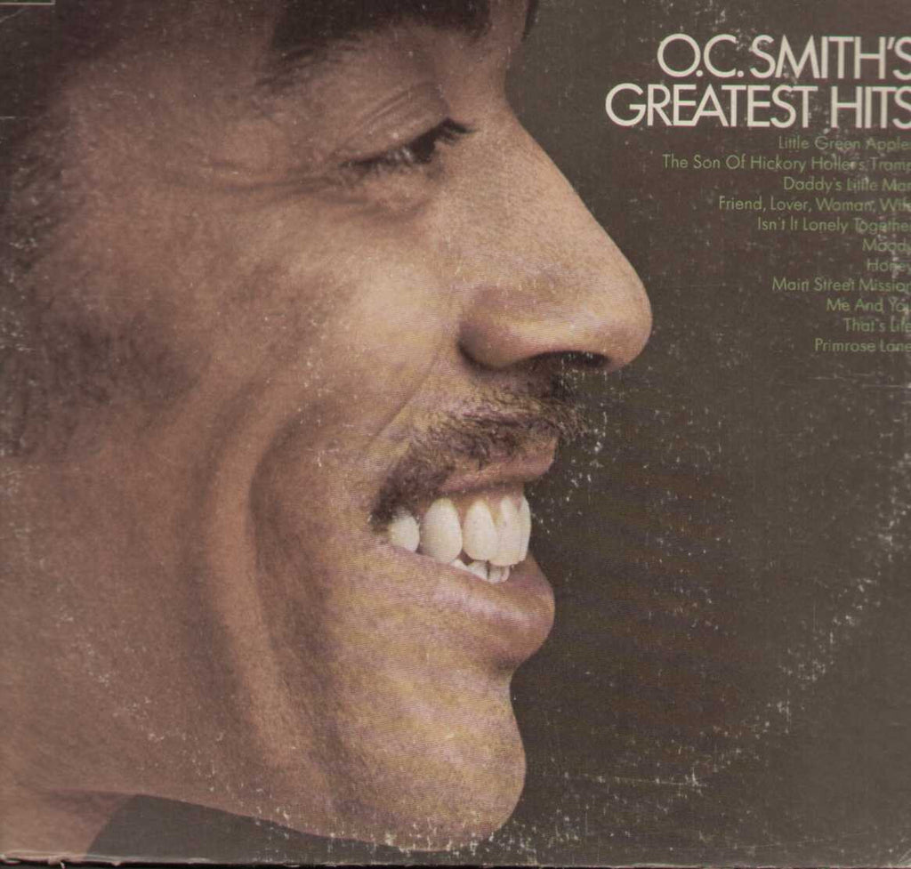O.C. Smith's Greatest Hits -  English 1970 LP Vinyl